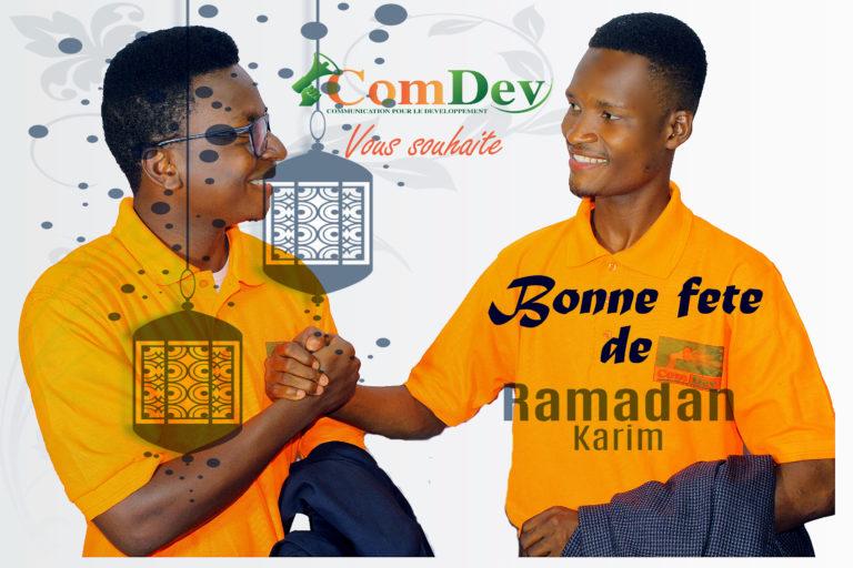 Bonne fête de Ramadan